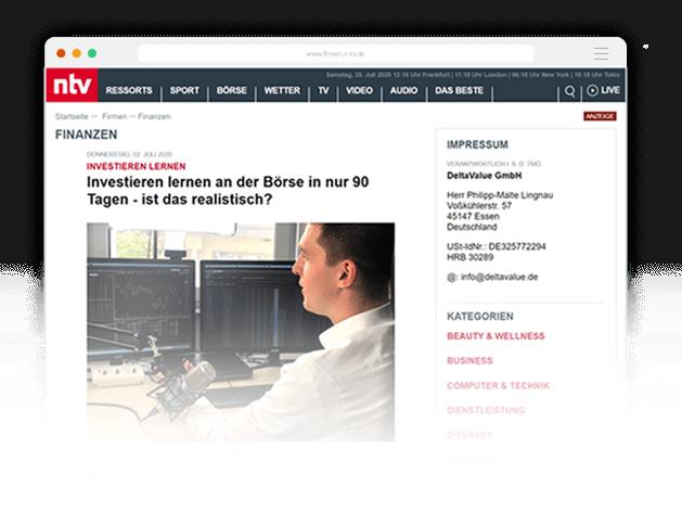NTV-Artikel