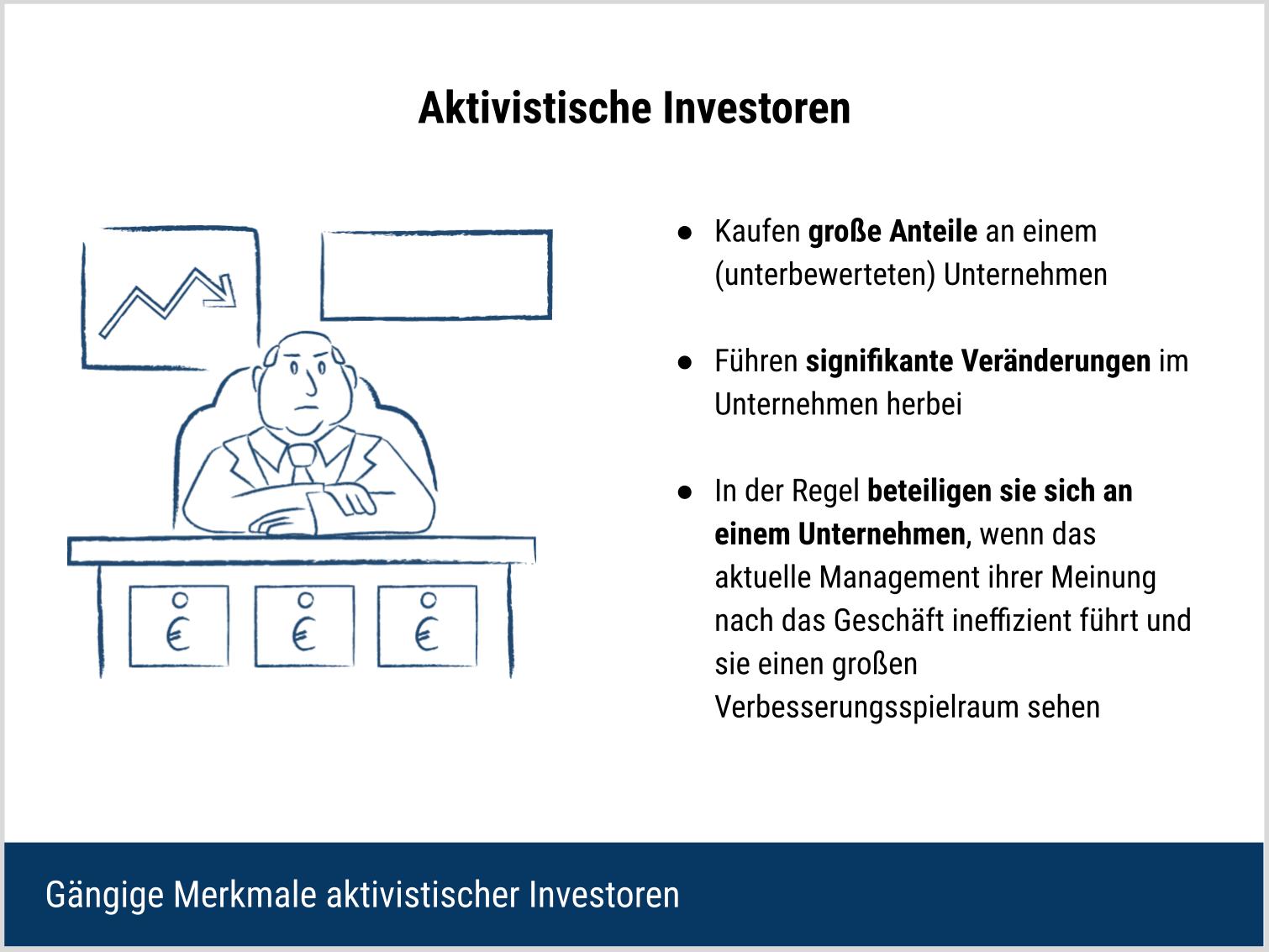 Aktivistische Investoren - Allgemeine Beschreibung